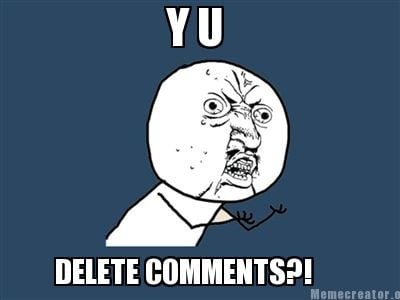 y-u-delete-comments