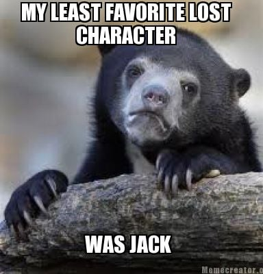 my-least-favorite-lost-character-was-jack