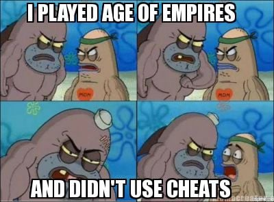Played age of empires