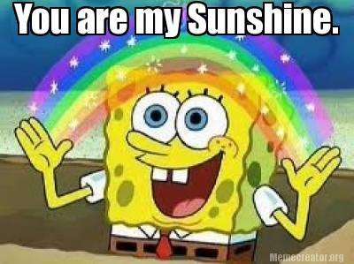 2070310 meme creator you are my sunshine meme generator at memecreator org!,You Are My Sunshine Meme
