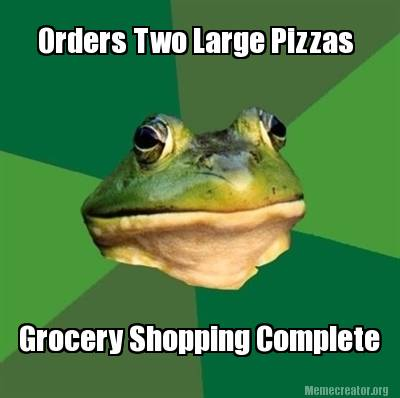 orders-two-large-pizzas-grocery-shopping-complete