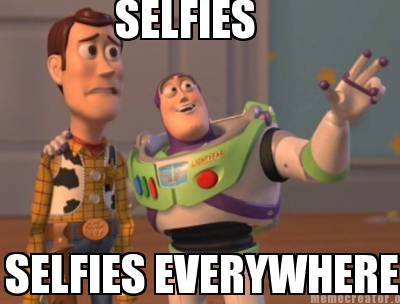 What's in a Selfie - they're everywhere...