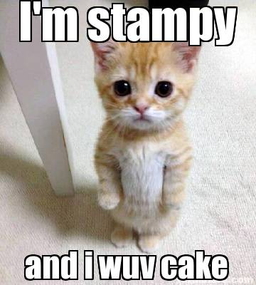 Stampy Cake Template