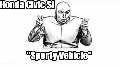 honda-civic-si-sporty-vehicle