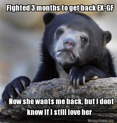 Meme Creator - Funny Fighted 3 months to get back EX-GF Now