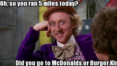 2636959 meme creator oh, so you ran 5 miles today? did you go to