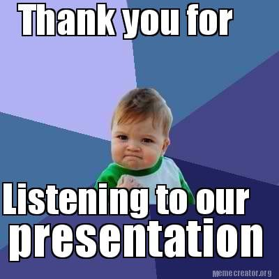 Funny Thank You Images For Ppt funny thanks for liste...