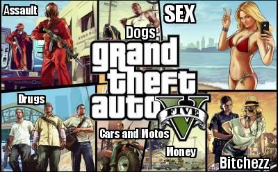 Meme Creator - Funny Assault SEX Drugs Money Bitchezz Dogs