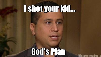 Shot your kid