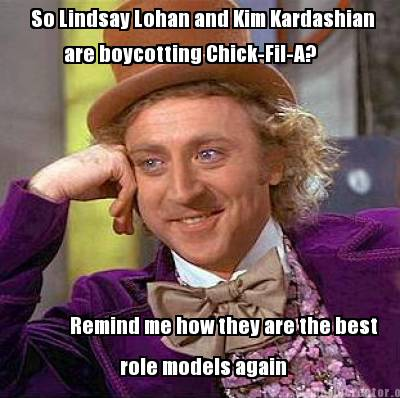 So lindsay lohan and kim kardashian