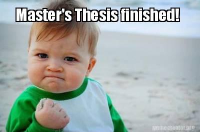 finished dissertation meme