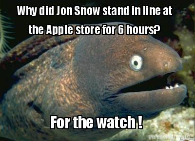 why-did-jon-snow-stand-in-line-at-the-apple-store-for-6-hours-for-the-watch-