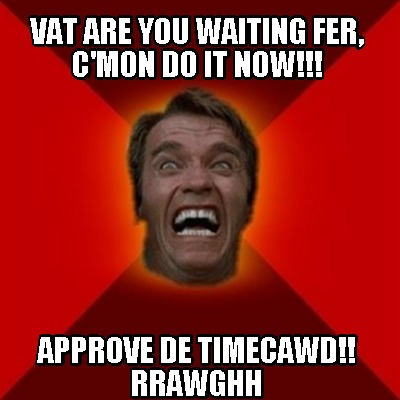 vat-are-you-waiting-fer-cmon-do-it-now-approve-de-timecawd-rrawghh