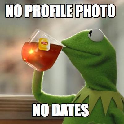 No profile picture funny