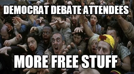 democrat-debate-attendees-more-free-stuff