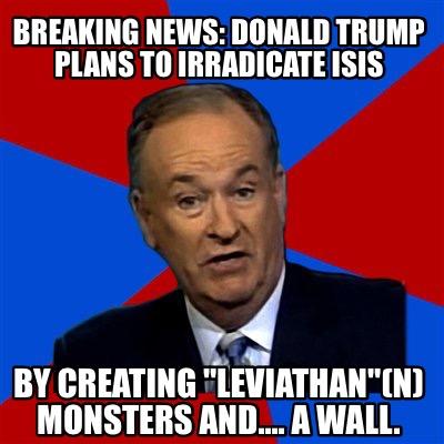 Meme Creator - Funny Breaking news: Donald trump plans to ...