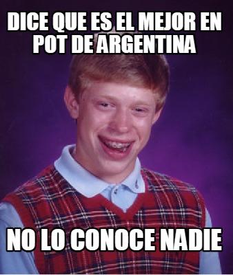 Q es careta en argentina