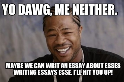 Can you write an essay for me