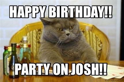 Poker Cat Meme Generator Happy Birthday