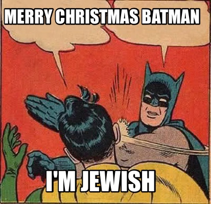 batman slapping robin meme generator merry christmas batman - Merry Christmas Meme Generator