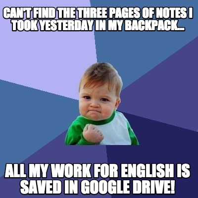 Google Drive memes , The 20 Best Apps for Students