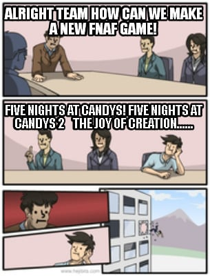 FIVE NIGHTS AT CANDYS! FIVE NIGHTS AT CANDYS 2 the joy of creation ...