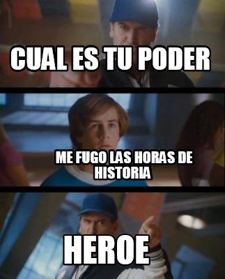 yo quiero un heroe - Yo quiero un heroe