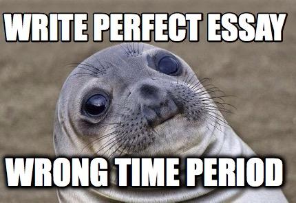 Perfect essay generator