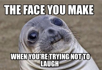 pin not laughing meme - photo #25
