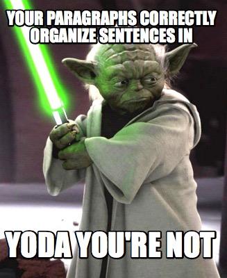 Write a sentence like yoda the cat