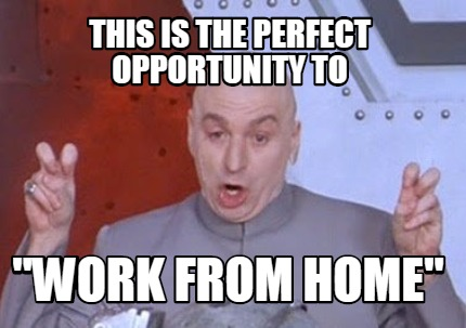 Meme Creator This Is The Perfect Opportunity To Quot Work