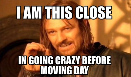 Meme Creator - I am this close In going crazy before ...