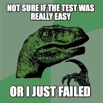 Meme Creator - Not sure if the test was really easy or i ...