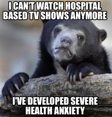 Meme creator i can t watch hospital based tv shows anymore i ve