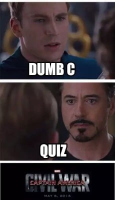 dumb ass quiz