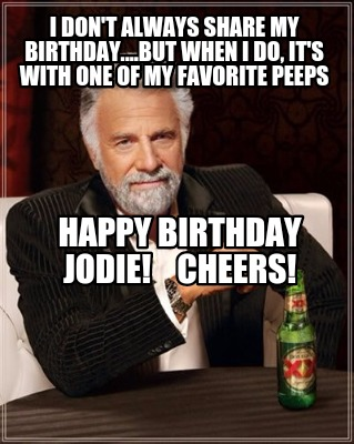 The incorrect Happy birthday dos equis meme consider, that