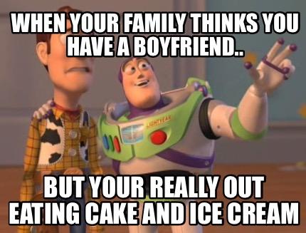 Ice Cream Cake Meme