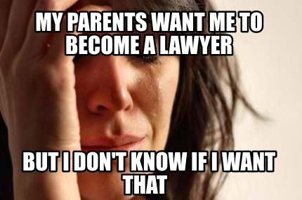 how to know if i want to be a lawyer