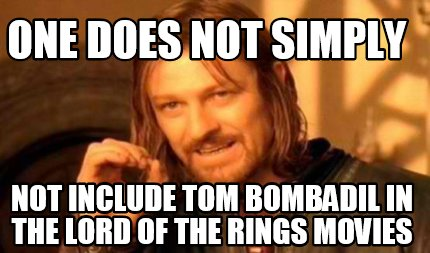 Lord Of The Rings Meme One Does Not Simply Generator