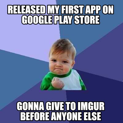 Meme Creator - Funny Released my first app on Google Play ...