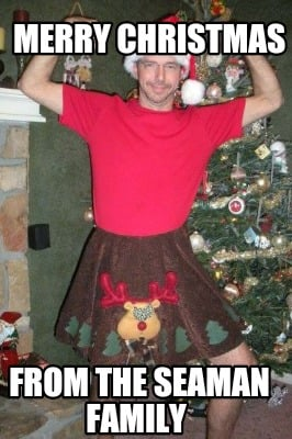 Family Christmas Meme Funny.Meme Creator Funny Merry Christmas From The Seaman Family