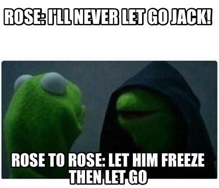 let go meme