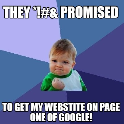 how to get my site on page one of google