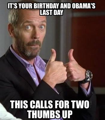 Obama Meme Thumbs Up