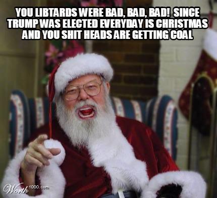 angry santa meme generator