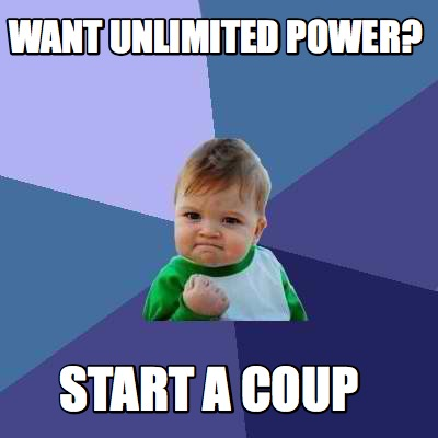how to start a coup