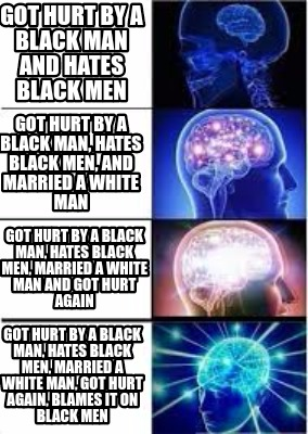 hurt black single men 4 important rules for white men this won't apply to every black woman, but it wouldn't hurt to infuse some do you think of dating a black woman as a.
