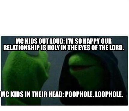 Poophole loophole