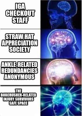 Meme Creator Funny Iga Checkout Staff Straw Hat Appreciation