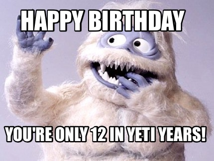 happy-birthday-youre-only-12-in-yeti-years